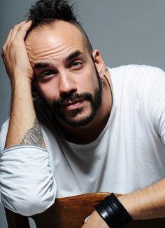 "Panos Mouzourakis, Greek singer of ""Entexno"" music. Greek Men, True Love, My Love, Celebs, Celebrities, My Photos, Rings For Men, Music, People"
