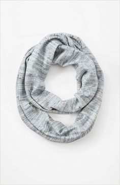 Pure Jill heathered cotton infinity scarf