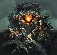 Jason Chan Art: Magic: the Gathering - Update for 2011