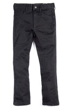Appaman Skinny Twill Pant in Black