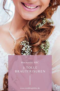 Jedes Jahr gibt es Haartrends natürlich auch im Bereich der Brautfrisuren bzw. Hochzeitsfrisuren und deshalb stelle ich euch heute ein paar wunderschöne, moderne Frisuren vor, die euch mit Sicherheit gefallen werden. #hochzeit Modern Hairstyles, Perfect Wedding, Host Gifts, Safety, Couple, Tips