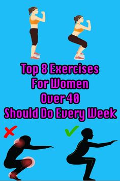 healthy living strategy: 8 Exercises That Every 40 Year Old Woman Should Do Fitness Plan, Fitness Tips, Health Fitness, 40 Years Old, Year Old, Fitness Exercises, Workout For Beginners, Old Women, Healthy Tips