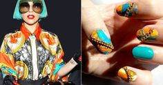 15 Best Inspiring Yet Crazy Nail Art Designs Of Lady Gaga Nail Art For Beginners 4 15 + Best, Inspiring Yet Crazy Nail Art Designs Of Lady Gaga   Nail Art For Beginners