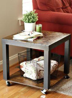 Deco DIY: 10 Ways to Transform Ikea's LACK Table