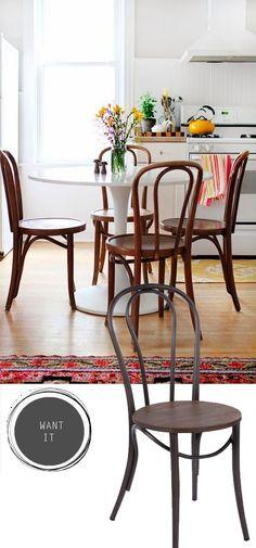 French Bistro Chairs as seen on SA Decor & Design   www.sadecor.co.za   Chair Crazy