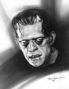 Frankenstein by Basil Gogos