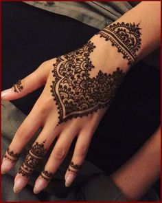 Eid Mehndi Design For Hand And Feet 2016 Stylish And Easy