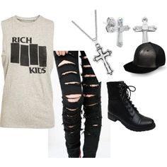 """G-Dragon Crooked #1"" by haveyoumetbeth on Polyvore"
