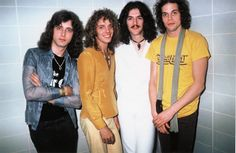 Young Peter Frampton and Band