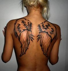 Little wings on the back..