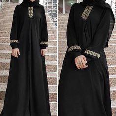 Women plus size print abaya jilbab muslim maxi dress casual kaftan long dress Abaya Fashion, Muslim Fashion, Ethnic Fashion, Dress Fashion, Women's Fashion, Abaya Mode, Mode Hijab, Modest Dresses, Casual Dresses
