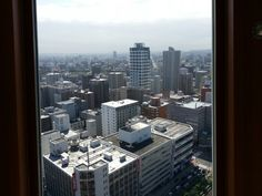 Scenery from the Sapporo television tower 5   北海道 札幌