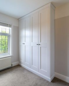 Cabinet maker specialising in Bespoke Fitted Wardrobes, Alcove units, Under Stairs Cupboards and Fitted Furniture in Burton on Trent, Staffordshire. Alcove Wardrobe, Bedroom Built In Wardrobe, Bedroom Built Ins, Wardrobe Doors, Closet Bedroom, Home Bedroom, Corner Wardrobe, Bedroom Cupboard Designs, Bedroom Cupboards