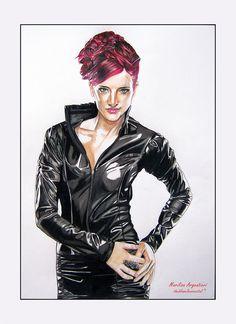 Black-SUSAN COFFEY- by marilisaargentieri.deviantart.com on @deviantART