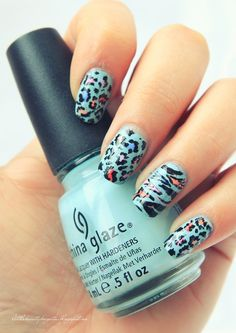 107 Animal Print Nails Art To Highlight Your Wild Side