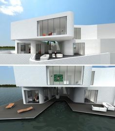 individual multi level apartments on the water in the netherlands