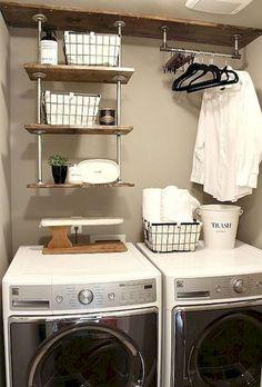 Adorable 70 Modern Farmhouse Laundry Room Decor Ideas https://homemainly.com/2649/70-modern-farmhouse-laundry-room-decor-ideas