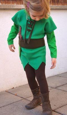 MammaViò: Costume da carnevale di Peter Pan