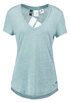 Strl: XS LOGO  - T-shirts med print - vapour steel
