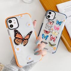 Butterfly Protection Camera iPhone Case