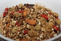 Spiced Quinola by Roz Purcell Brunch Recipes, Breakfast Recipes, Breakfast Healthy, Natural Born Feeder, Whole Food Recipes, Dog Food Recipes, Healthy Treats, Healthy Recipes, Come Dine With Me