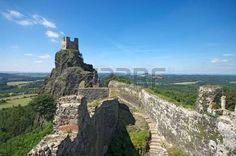 Ruins of Trosky castle in Czech paradise photo