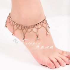 Anklets Dynamic Indian Bollywood Anklet Payal Fashion Silver Tone Pearl Belly Dance Foot Jewelry Jewelry & Watches