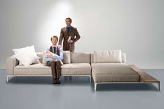 This Studio Segers for Indera Tailor-Made Sofa Unites Form and Function #seating trendhunter.com