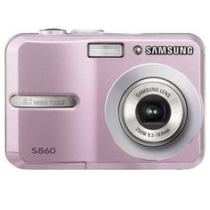 Samsung S860 8.1MP Digital Camera with 3x Optical Zoom (Pink) - http://yourperfectcamera.com/samsung-s860-8-1mp-digital-camera-with-3x-optical-zoom-pink/