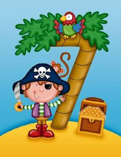 Imagenes de cuentos de piratas-Imagenes y dibujos para imprimir