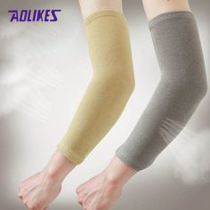 c5ce27ad87 Cheap elastic elbow brace, Buy Quality sport protective gear directly from  China elbow brace Suppliers: Elastic Elbow Supports Arm Compression Wear  Arm ...