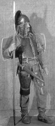 5th century Scythian armor reconstruction.
