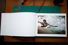 the underwater project...handbound book of underwater photos. by mark tipple