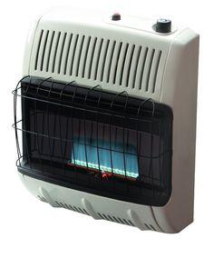 Mr. Heater 30,000 BTU Natural Gas Blue Flame Heater F255539 - MHVFB30TB NG