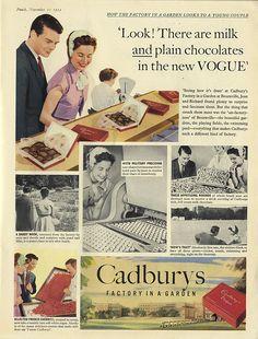 Cadbury's / Factory in a garden