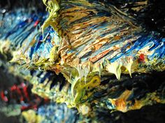 Title: UNTITLED t32 Dimensions: (24 [h] by 18 [w] by circa 8 [deep] in.) Medium: Oil Paint Substrate: Over acrylic paint mixed with crushed glass over reinforced-plaster Catalogue: T32 Date: 2012