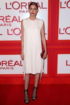 Nadja Bender à la soirée L'Oréal Red Obsession