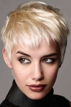 30 Simple Long Pixie Haircuts For Round Faces 2018 - Styles Art Pixie Haircut For Round Faces, Longer Pixie Haircut, Round Face Haircuts, Pixie Haircuts, Latest Short Hairstyles, Trendy Hairstyles, Stylish Hair, Short Hair Cuts, Hair Inspiration