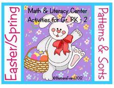 Easter/Spring Patterns & Sorts-free