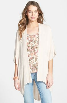 Elodie Crochet Back Kimono (Juniors) available at #Nordstrom