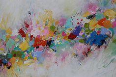 colorful abstract paintingOriginal paintingOriginal door artbyoak1