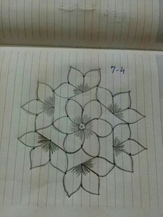 Indian Rangoli Designs, Simple Rangoli Designs Images, Rangoli Designs Latest, Rangoli Designs Flower, Rangoli Border Designs, Rangoli Designs With Dots, Flower Rangoli, Beautiful Rangoli Designs, Rangoli With Dots