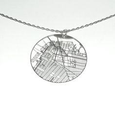 Streets Necklace Brooklyn DUMBO
