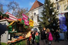 Merry Christmas! The Christmas markets in Bratislava are in full swing today.