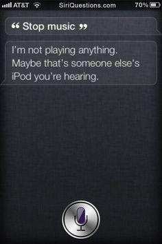 Way to go Siri