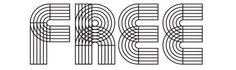 Orbits Free Font by Lukasz Kulakowski | via Behance