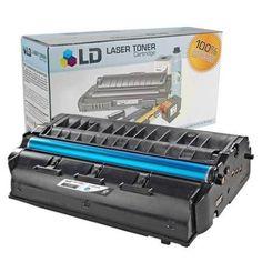LD Ricoh Compatible 406465 High Yield Black Laser Toner Cartridge