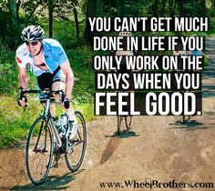 The real work is on the days that suck! #cycling #fitness #inspiration…