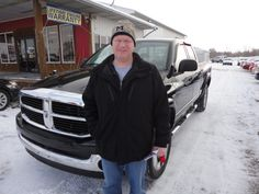 Congratulations to Jon Minnick on his purchase of a new Dodge Ram 4X4! A BIG thanks from the Auto Group! We really appreciate the opportunity to earn your business and hope you enjoy your new truck!