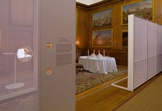 The Private Apartments <br /><span class='grey'>This is where the King and Queen lived, the bedchamber was only for public show. Peepholes create a sense of privacy and draw attention to details.</span>